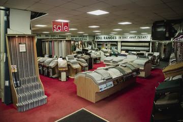 Empty Carpet Shop
