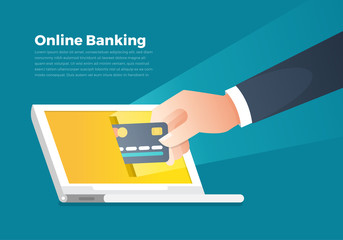 Illustrations online banking