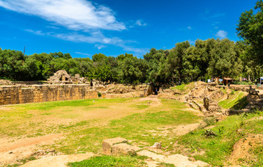 Ruins of Tipasa, a Roman colonia in Algeria, North Africa