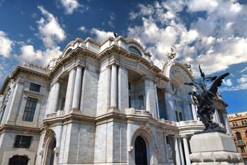 Mexico City, Palace of Fine Art (Palacio de Bellas Artes)