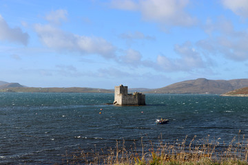 Kisimul Castle, Castlebay, Barra, Hebriden