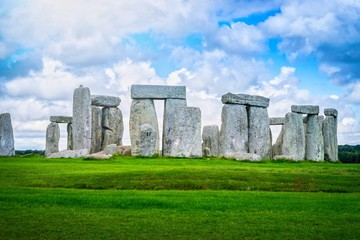 Wall Mural - Stonehenge an ancient prehistoric stone monument, Wiltshire, UK.