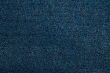 Top view of closed-up polyester carpet background texture
