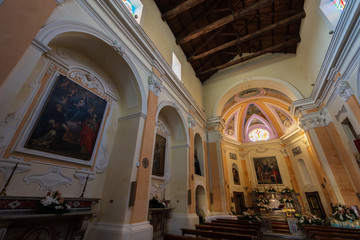 Fototapeta Francolise CE, S. Maria a Castello obraz