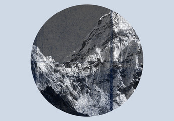 Conjunto de superposiciones de textura circular