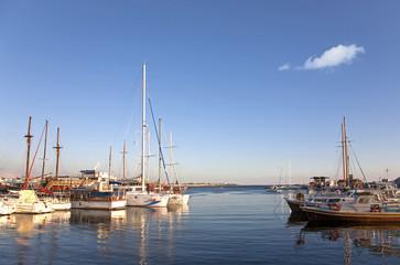 Im Hafen von Pafos