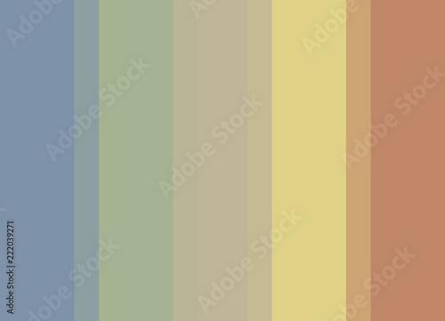Striped Background In Soft Pastel Bluegreenbeigeyelloworange