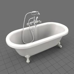 Clawfoot bath tub
