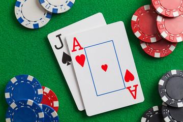 Black Jack Poker Chips