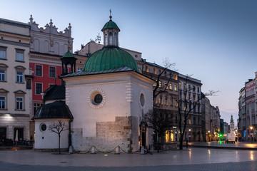 Kraków o świcie #1 - fototapety na wymiar