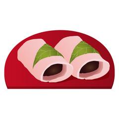 関東の桜餅