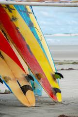 Surfboards in Jericoacoara