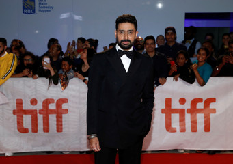 Actor Abhishek Bachchan arrives for the premiere of Husband Material at the Toronto International Film Festival in Toronto, Ontario
