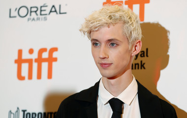 """Actor Troye Sivan arrives for the premiere of the movie """"Boy Erased"""" at the Toronto International Film Festival in Toronto"""