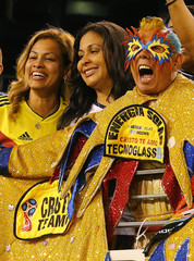 Soccer: International Friendly Soccer-Colombia at Argentina