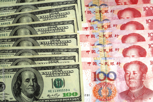 Us Currency Dollar Vs Chinese Yuan