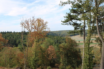 Landschaftsbild im Odenwald