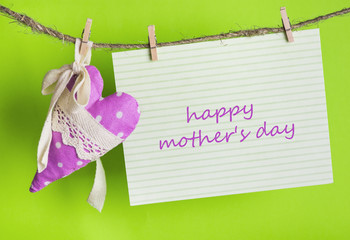 I love you Mom, Happy Mother's Day