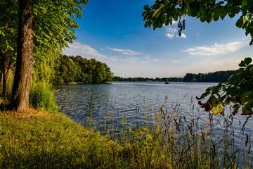 Berliner Naherholungsgebiet Flakensee am 66-Seen-Wanderweg
