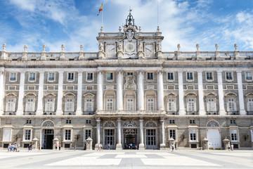 Palazzo Reale  Madrid Plaza dell'Armeria