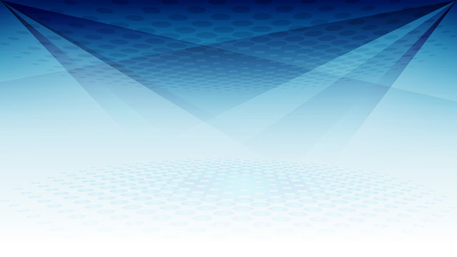 Abstract blue light and shade creative background. Vector illustration.