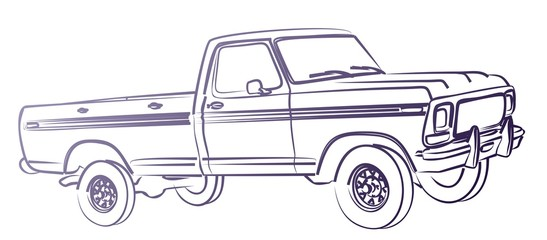 The Truck sketch.