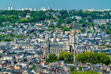 Church of St. Ouen in Rouen, France