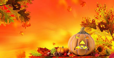 Herbst Deko Halloween