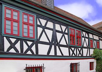 Altes historisches Rathaus, Roßdorf, Hessen