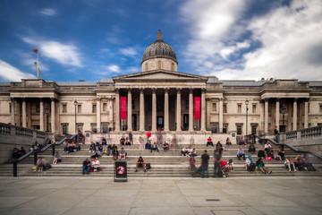 The national gallery in Trafalgar suqare, London Fotomurales