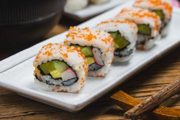 Sushi ,Japanese food.