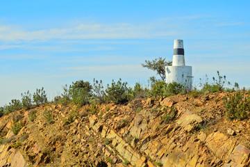 Landscape in Algarve, Portugal: Geodesic Dome
