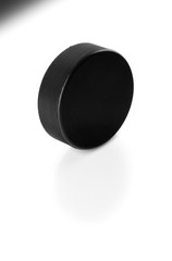 Hockey Puck Standing on Side