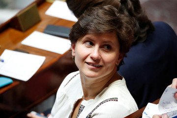 French Sports Minister Roxana Maracineanu attends the questions to the government session at the National Assembly in Paris