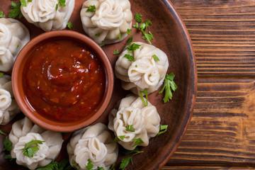 Georgian dumplings khinkali