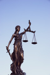 Legal law concept image. Scales of justice.