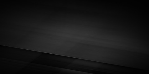 Abstract black surface over dark background