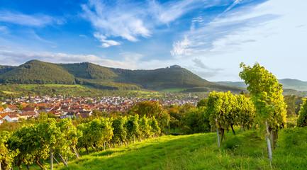 Aussicht auf Beuren und den Hohenneuffen - Schwäbische Alb