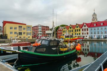 Torshavn Harbor, Faroe Islands