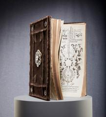 Ornate magic spellbook