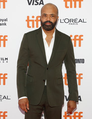 Wright arrives for the premiere of Hold the Dark at the Toronto International Film Festival in Toronto