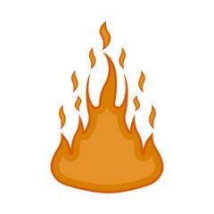 Comic fire icon image