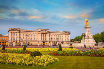 Poster Historical buildings Buckingham Palace is the London, UK