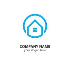 home logo design element, logo design template