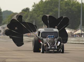 Nimrod Fuel Altered Car Slows After Drag Race Eddyville Raceway Park