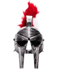 isolated Spartan helmet