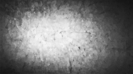 The dusty grungy black and white at old computer screen texture background.