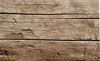 Old wooden wall in brown tone.