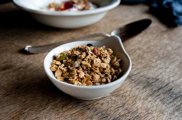 Granola with yoghurt