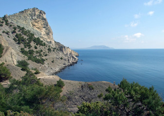 view of the crimean coast